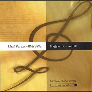 Image for 'Franz Liszt - Peter Wolf: Hungarian rhapsodies'