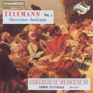 Image for 'Telemann: Overture Burlesque, Vol. 2'