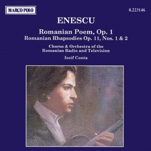 Image pour 'ENESCU: Romanian Poem / Romanian Rhapsodies Nos. 1 and 2'
