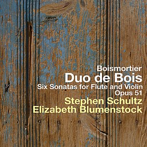 Image for 'Six Sonatas for Flute and Violin - Opus 51 - Boismortier'