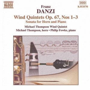 Image for 'DANZI: Wind Quintets, Op. 67, Nos. 1-3'