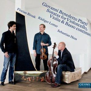 Image for 'Platti: Sonatas for Violoncello, Violin & Basso continuo'
