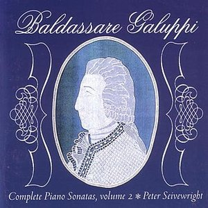 Imagem de 'Galuppi - The Complete Piano Sonatas, Volume 2'