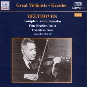 Image pour 'BEETHOVEN: Violin Sonatas (Complete) (Kreisler) (1935-1936)'