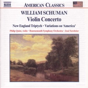 Image for 'SCHUMAN: Violin Concerto / New England Triptych'