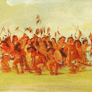 Bild för 'Танцы индейцев'