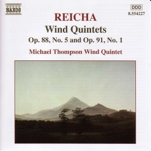 Image for 'REICHA: Wind Quintets, Op. 88, No. 5 and Op. 91, No. 1'