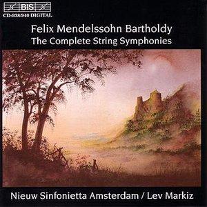 Image for 'MENDELSSOHN: Complete String Symphonies Nos. 1-12'