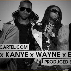 Image for 'Drake Feat. Lil Wayne, Kanye West & Eminem'