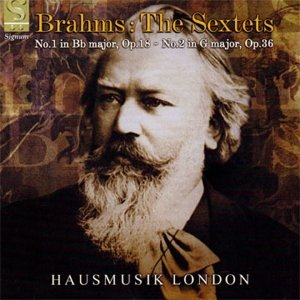 Image for 'Brahms: The Sextets - No.1 in B flat major, Op.18, No.2 in G major, Op.36'