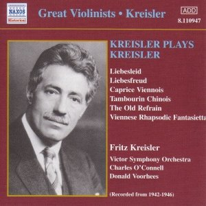 Image for 'KREISLER: Kreisler Plays Kreisler (1942-1946)'