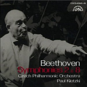 Image for 'BEETHOVEN: Symphonies Nos. 2 & 8 (conductor Paul Kletzki)'