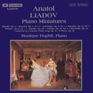 Image for 'LIADOV: Piano Miniatures'