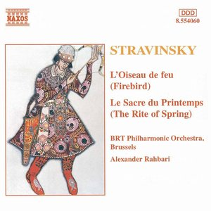 """The Firebird Suite: II. Variation de l'oiseau de feu (Firebird Variation)""的封面"
