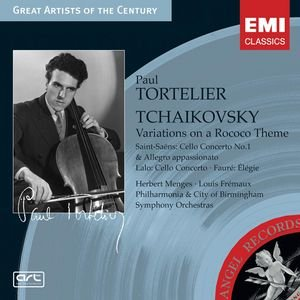 Image for 'Tchaikovsky: Variations on a Rococo Theme; Lalo: Cello Conceto etc.'