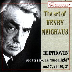 Image for 'The Art of Henry Neighaus, Vol V. Beethoven'