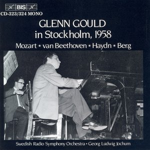 Image for 'Gould Plays The Piano In Stockholm, 1958'