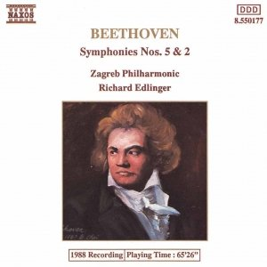 Image for 'BEETHOVEN: Symphonies Nos. 5 and 2'