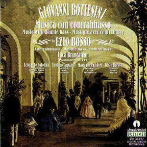 Image for 'Giovanni Bottesini: Musica Con Contrabbassso'