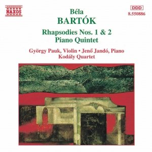 Image for 'BARTOK: Rhapsodies Nos. 1 and 2 / Piano Quintet'