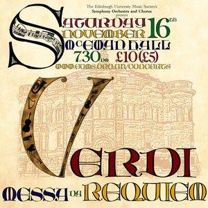Image for 'EUMS Chorus & Symphony: Verdi Requiem 2013'
