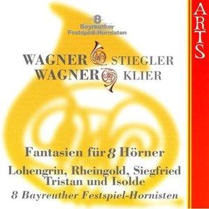 Bild för 'R. Wagner/K. Stieglier / R. Wagner/M. Klier: 8 Bayreuther Festspiel-Hornisten'