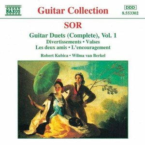 Image for 'SOR: Guitar Duets, Vol. 1'