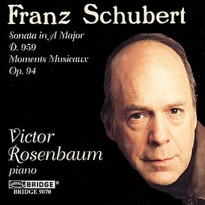 Image for 'Victor Rosenbaum: Schubert Recital'