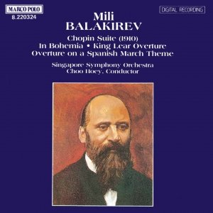 Image for 'BALAKIREV: Chopin Suite / Overtures'