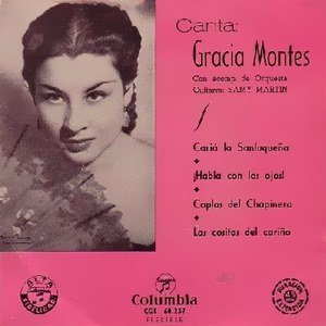 Image for 'Gracia Montes - Columbia - CGE 60237'