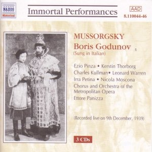 Image for 'MUSSORGSKY : Boris Godunov (Pinza / Thorborg / Warren)'