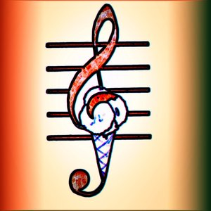 Immagine per 'Un Gelato In Chiave Di Violino'