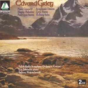 Image for 'Grieg: Piano Concerto, Symphonic Dances, Lyric Pieces, Holgberg Suite, Peer Gynt Suites'