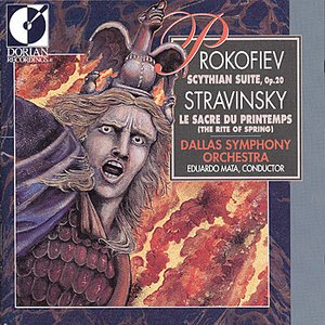 """Prokofiev - Scythian Suite, Stravinsky - The Rite of Spring""的封面"