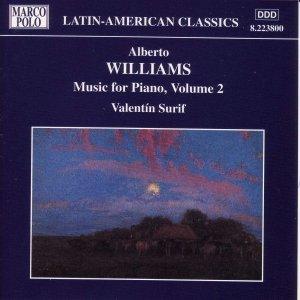 Image for 'WILLIAMS: Piano Music, Vol.  2'