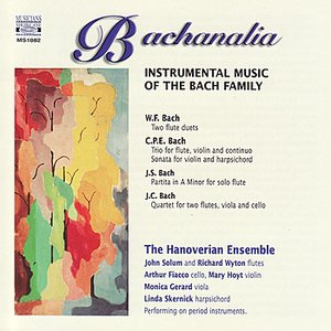 Image for 'Bachanalia - Instrumental Music of the Bach Family'