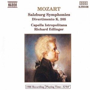 """Image for 'Divertimento in F major, K. 138, """"Salzburg Symphony No. 3"""": I. Allegro'"""
