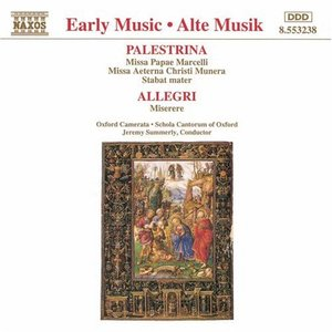 Image for 'Choral Works by Palestrina, Allegri'
