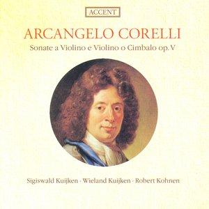 Image for 'Corelli, A.: Violin Sonatas, Op. 5, Nos. 1, 3, 6, 11, 12'
