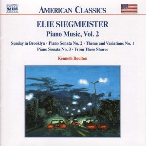 Image for 'SIEGMEISTER: Piano Music, Vol.  2'