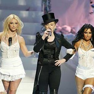 Image for 'Madonna feat. Britney Spears and Christina Aguilera'