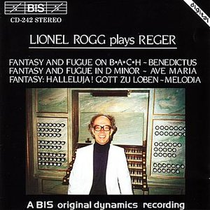 Image for 'ROGG PLAYS REGER'