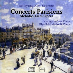Image for 'Concerts Parisiens: Melodie, Lied, Opera'
