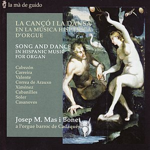 Image for 'Song and Dance in Hispanic Music for Organ'