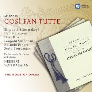 Image for 'MOZART: Cosi fan tutte (Schwarzkopf, Otto, Karajan) (1954)'