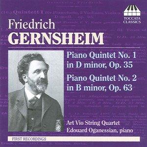 Image for 'Gernsheim: Piano Quintets Nos. 1 & 2'