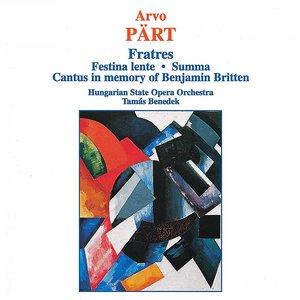 Image pour 'Cantus in memoriam Benjamin Britten'