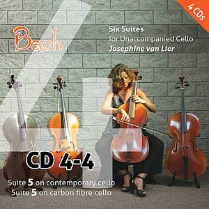 Image for 'Bach: Six Suites for Unaccompanied Cello (Vol. 4)'