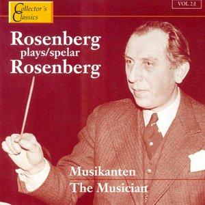 Image pour 'Rosenberg Plays Rosenberg (The Musician)'