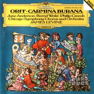 Image for 'Carmina Burana (Chicago Symphony Orchestra feat. conductor: James Levine)'